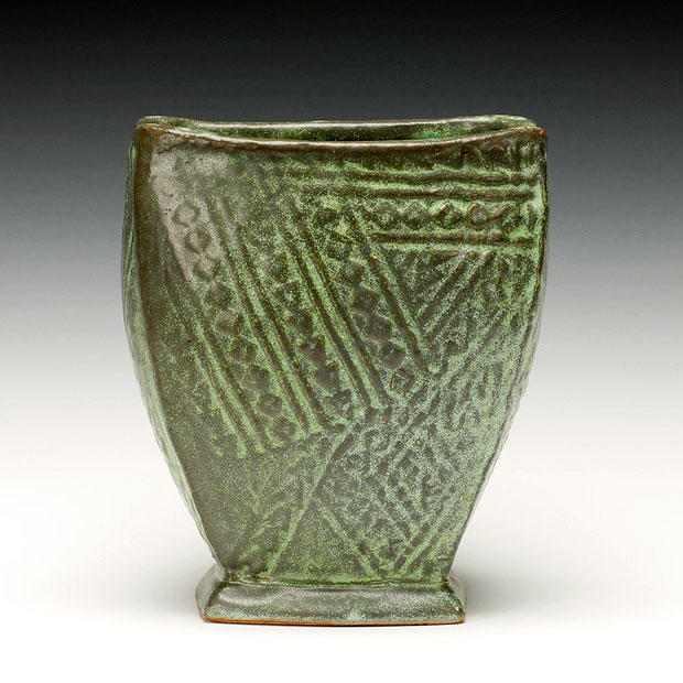 Schaller Gallery Jan Mckeachie Johnston Slab Vase